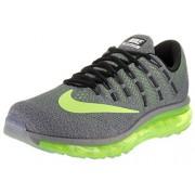 Nike Men's Air Max 2016 Cool Grey/Volt/Black/Wolf Grey Running Shoe 8. 5 Men US