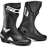 Sidi Performer Botas de moto Negro Blanco 38