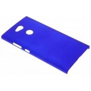 Blauw effen hardcase hoesje voor de Sony Xperia L2