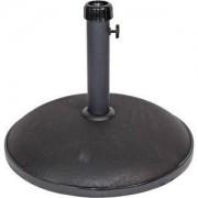 Express Parasolvoet beton rond 30 kg zwart