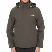 The North Face Mens Sangro Jacket Black Ink Green Skaljacka Herr