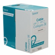 Rola cablu de retea RJ45 FTP cat 5e 305m Cupru, Spacer SP-RCAT5FTPCU