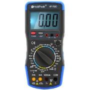 HOLDPEAK 760C Digitális multiméter VAC VDC AAC ADC ellenállás kapacitás frekvencia induktivitás.