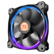 Вентилатор Thermaltake Riing 120x120x25 12v, 1500 RPM, LED RGB, THER-FAN-F042-SW