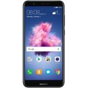 "Telefon Mobil Huawei P Smart, Procesor HiSilicon KIRIN 659, Octa Core 1.7GHz / 2.36GHz, IPS LCD 5.65"", 3GB RAM, 32GB Flash, Camera Duala 13MP + 2MP, 4G, WI-FI, Dual Sim, Android (Negru) + Cartela SIM Orange PrePay, 6 euro credit, 6 GB internet 4G, 2,000 m"