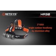 Niteye HA30 LED Taschenlampe