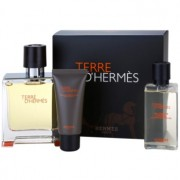 Hermès Terre D'Hermes lote de regalo VIII. eau de parfum 75 ml + bálsamo after shave 15 ml + gel de ducha 40 ml