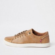 Levi's leather lace-up trainers (Size 42)