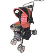 Oh baby baby Full Size Stroller Pram With 8 Wheels And Mosquito Net For Your Kids SE-PR-08