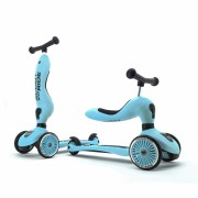 Trotineta copii transformabila 2in1 Scoot Ride HighwayKick 1 Blueberry