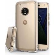 Husa Ringke Motorola Moto G5 Plus 2017 Fusion Clear + folie protectie display Ringke