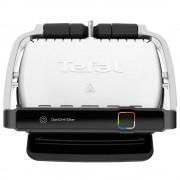 Grătar electric TEFAL Elite GC750D30, 2000 W, 12 programe, Sistem de gătit automat, 30 x 20 cm, Negru/Argintiu