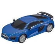 Jucarie Carrera Slot Accessories Go!! Audi R8 V10 Plus Blue Car 1:43