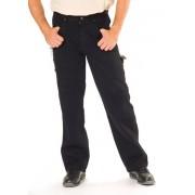 Stretch Workerjeans, Farbe schwarz, Gr.50