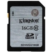 Card de memorie Kingston 16GB, SDHC, Class10, UHS-I, 45MB/s