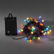 40-blb LED outdoor string lights RGB battery