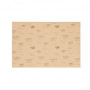 Dille&Kamille Enveloppe, papier bouse, naturel,à motif de bâteau, 24 x 16 cm