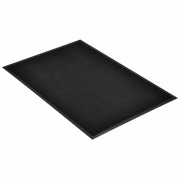 Килимче за входна врата [en.casa]® 90 x 60 cm, Черно