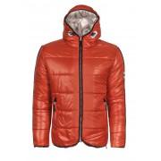 Giorgio Di Mare Winter Coat Sweater Orange GI4357689