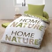 Parure de couette 140x200 cm 100% Microfibre Home Nature