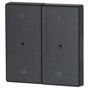 Capac Buton LED dublu - Antracit I/O CWIZ-02/14-LED EATON