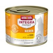 Animonda Cat Integra Protect Nieren konzerv, csirke 200 g