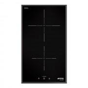 SMEG Placa Modular SI5322B Con 2 Zonas De Inducción