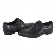 Pantofi eleganti, piele naturala barbati - negru, Saccio - A588-50A-Black