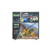 MODEL SET - ELICOPTER MILITAR MI024D HIND - RV64951 - REVELL