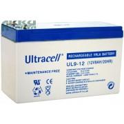 ULTRACELL 12V 9 Ah akkumulátor