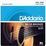 D'addario EJ11 80/20 Bronze Light [12-53]