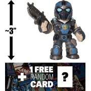 "Anthony Carmine: ~3"" Funko Mystery Minis x Gears of War Mini Vinyl Figure + 1 FREE Video Games Themed Trading Card Bundle [VERY RARE] (11356)"