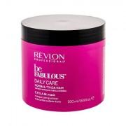 Revlon Professional Be Fabulous™ Daily Care Normal/Thick Hair maschera per capelli per capelli colorati 500 ml