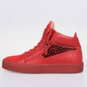 Giuseppe Zanotti Sneakers Alte May London In Pelle Autunno-Inverno Art. 74387
