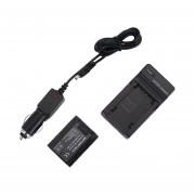 EY Batería (X2) & AC Cargador de red para Sony NP-FZ100 BC-QZ1/Sony Alpha 9 cámara-Negro