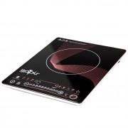 Индукционен котлон SAPIR SP 1445 N, 2100W, LED екран, 8 функции, 10 степени, Таймер, Черен