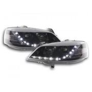 FK-Automotive faro Daylight Opel Astra G anno di costr. 98-03 nero