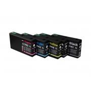 Epson Tintenpatronen Set kompatibel mit Epson C13T79014010 / M / C / Y / 79XL