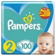 Pampers Premium Care   Maat 2   100 luiers   4-8kg
