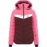 J.Lindeberg Women Down Jacket RUSSEL hot pink/dark mokka