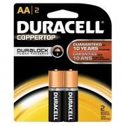 Duracell Basic Duralock MN1500 LR6 AA elem 2db/bliszter