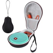LEORY Portable Carrying Case Pouch Protector Bluetooth Speaker Storage Bag for JBL Clip 2 EVA Cover