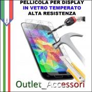 Pellicola Samsung A3 2016 Protezione Schermo Display Vetro Temperato Alta Resistenza