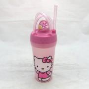 Hello Kitty szívószálas pohár tetővel