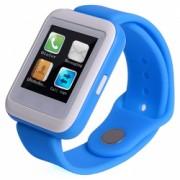 Smartwatch iUni U900i Plus Bluetooth LCD 1.44 Inch Dark blue Bonus Bratara Roca Vulcanica unisex