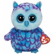 Jucarie Plus 24 cm Beanie Boos Oscar blue purple owl TY