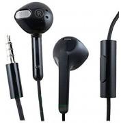 Nokia WH-308 stereo headset - zwart - met 3.5mm jack aansluiting