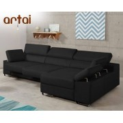 HOME Sofá de piel Artai