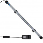 vidaXL LED аквариумна лампа 48 см бяла