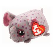 Jucarie Plus 10 cm Teeny Tys Trunks pink/grey elephant TY